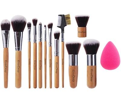 EmaxDesign Makeup Brush Set (13 Pieces)