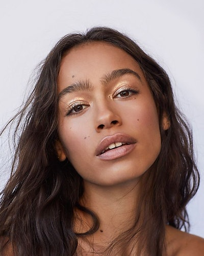 Free People's new Mineral Shimmer used as an eyeshadow