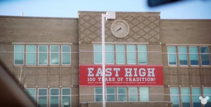 High School Musical: The Musical: The Series was filmed at East High School in Salt Lake City, Utah