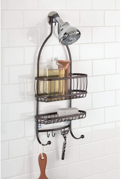 iDesign Metal Hanging Shower Caddy