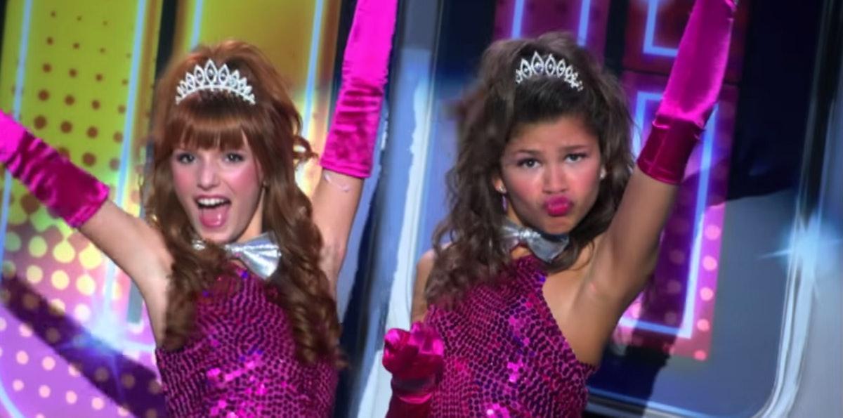 Bella Thorne and Zendaya in 'Shake It Up'