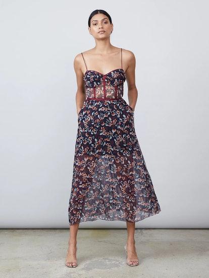 Eden Bustier Dress Bluestar