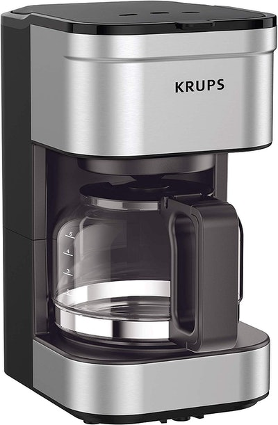 KRUPS Simply Brew 5-Cup Compact Filter Drip Coffee Maker
