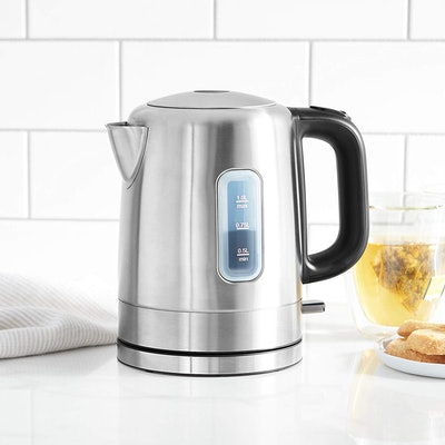 AmazonBasics Stainless Steel Electric Hot Water Kettle