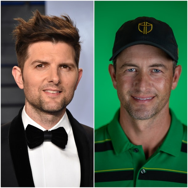 Adam Scott actor and Adam Scott golfer