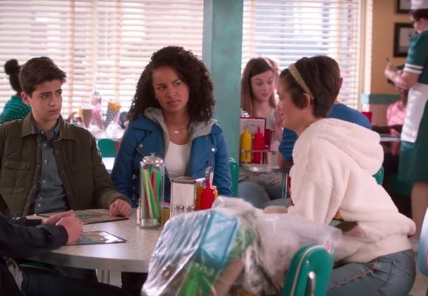 """Clip from 'Andi Mack' episode """"One Girl's Trash"""""""