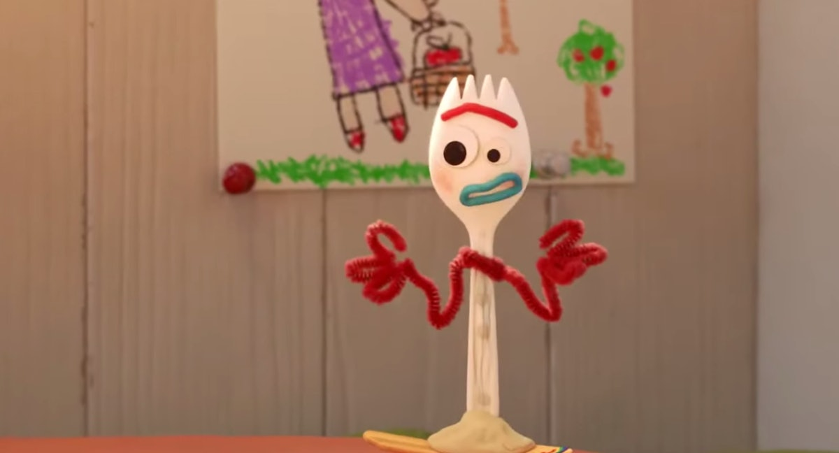 Forky in 'Forky Asks A Questions'