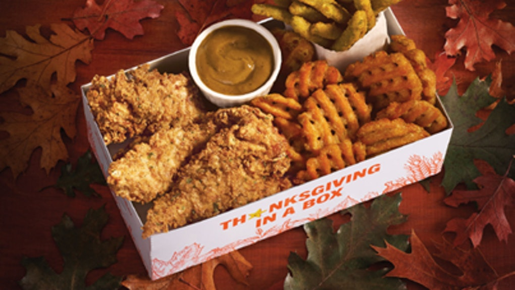 Hardee's Thanksgiving in a Box test items put a twist on classic dishes.