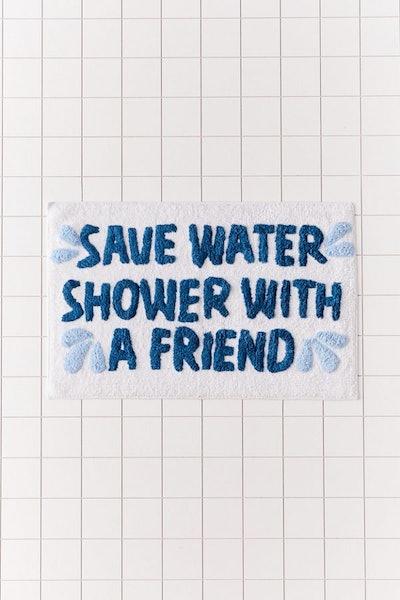 Save Water Bath Mat