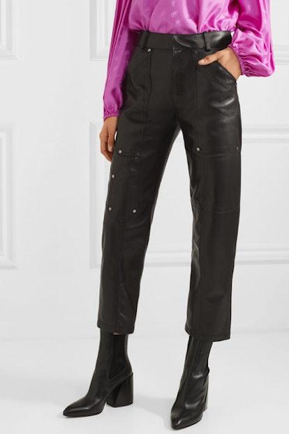 Studded Leather Pants