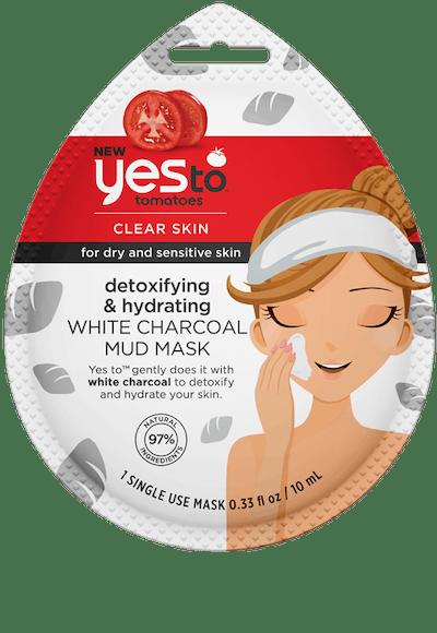 Detoxifying & Hydrating White Charcoal Mud Mask