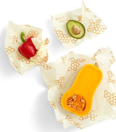 Beeswax Wraps-Set of 3 Reusable Bees Wax Food Wraps