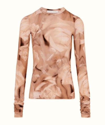Printed XLong Sleeve T-Shirt