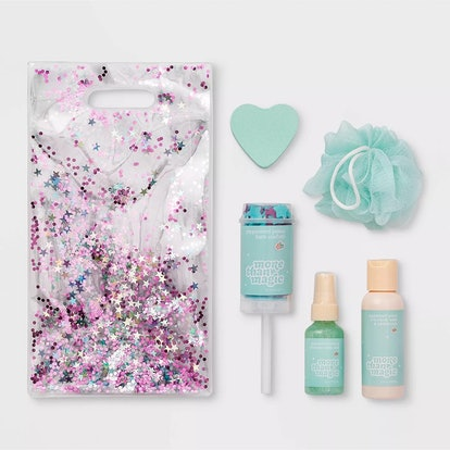 Bath & Body Peppermint Shimmer Gift Set