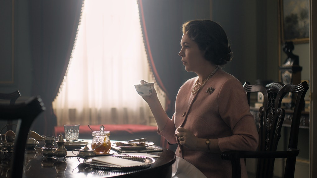 Olivia Colman as Queen Elizabeth in The Crown
