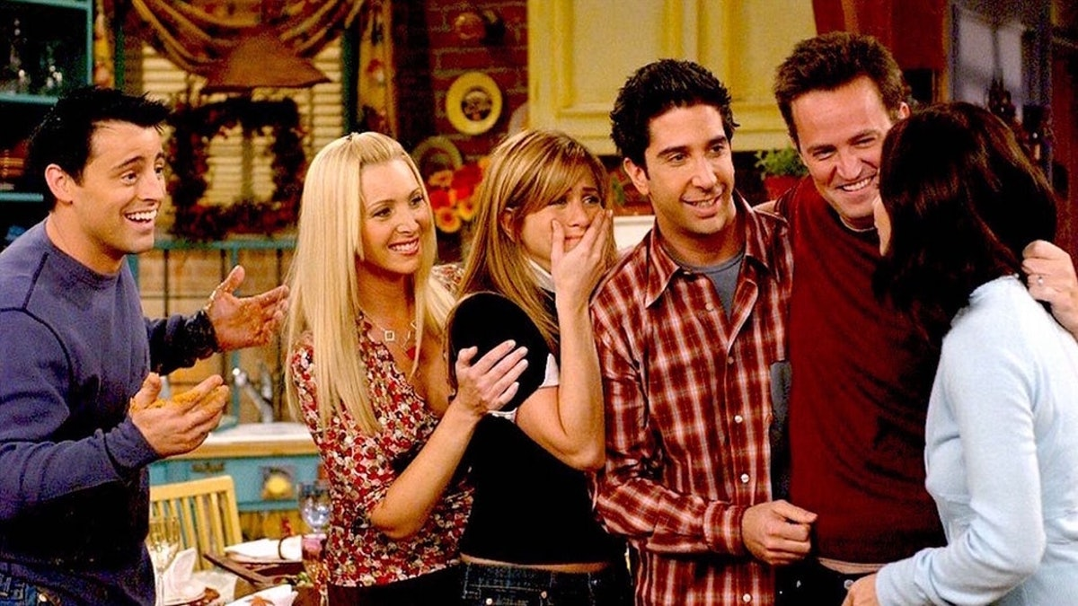 the cast of 'Friends'