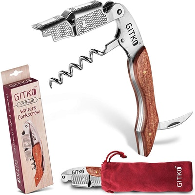 Gitko Wine Opener & Waiters Corkscrew