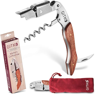 Gitko Wine Opener & Waiters Corkscrew