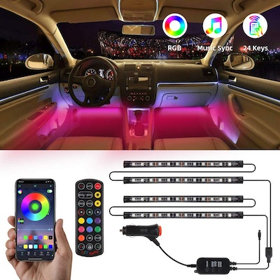 TATUFY Interior Car Lights