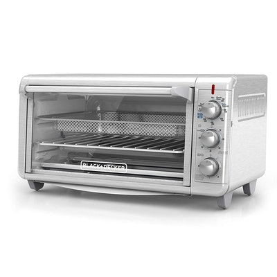 BLACK+DECKER Extra-Wide Crisp 'N Bake Air Fry Toaster Oven