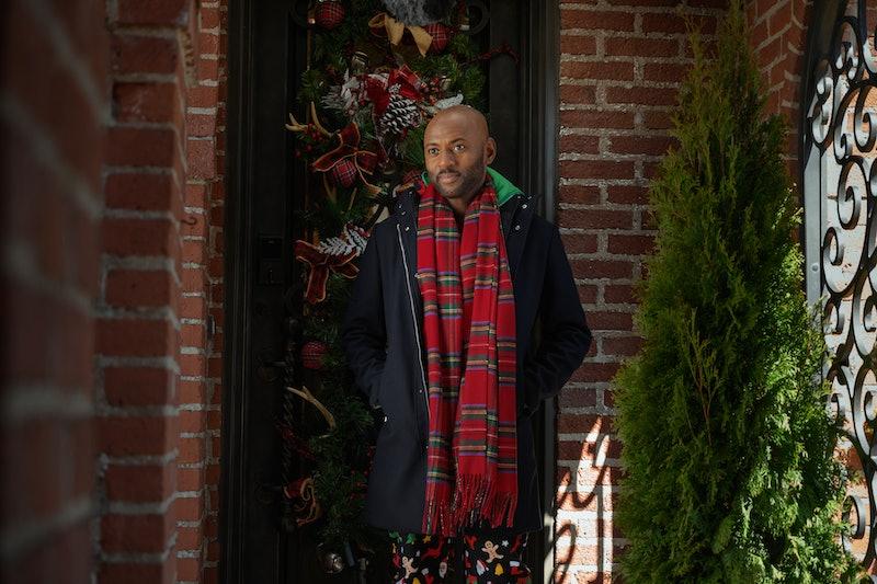 Romany Malco stars in Netflix's Holiday Rush movie.