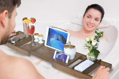 ROYAL CRAFT WOOD Bathtub Tray