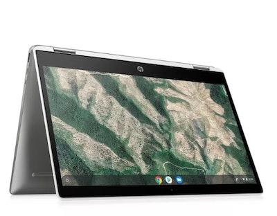 "HP 14"" Chromebook X360 Convertible Touchscreen (14b-ca0036nr) Ceramic White"