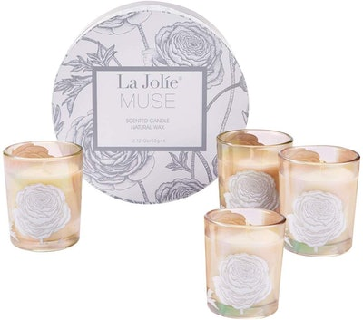LA JOLIE MUSE Scented Candles Gift Set