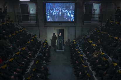 The Seventh Kavalry in 'Watchmen' created a fake church.