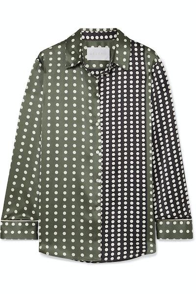Polka Dot Pajama Shirt