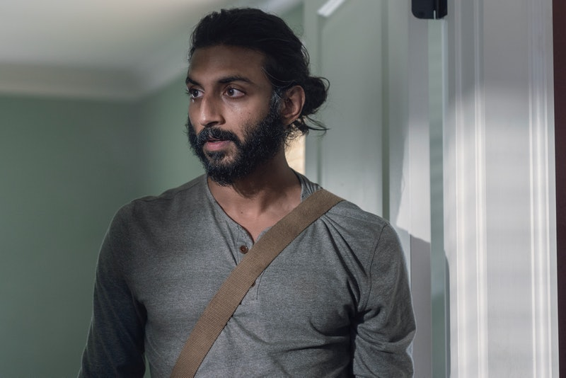 Siddiq could be hiding something on The Walking Dead.