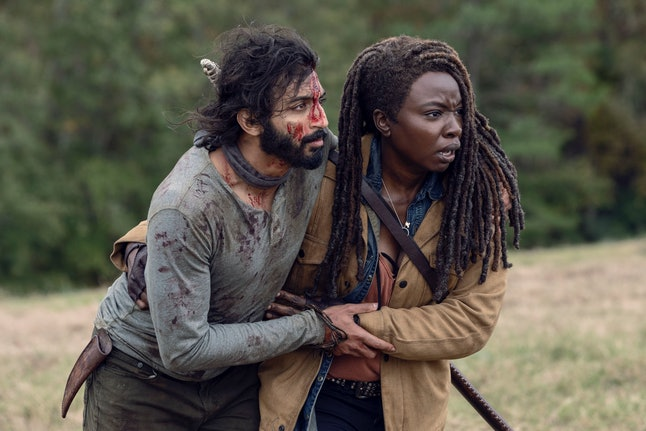 Siddiq may be hiding something on The Walking Dead.