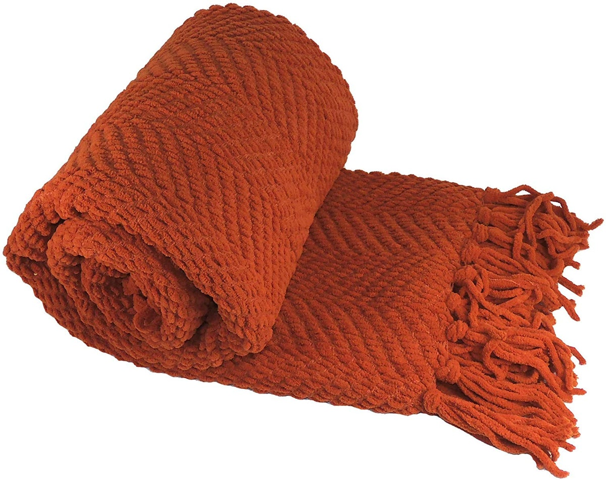 Home Soft Things Knitted Tweed Throw