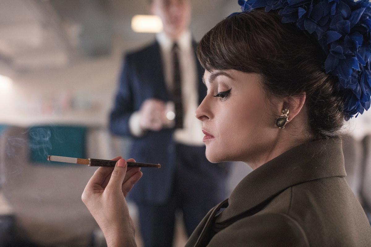 Helena Bonham-Carter as Princess Margaret in The Crown