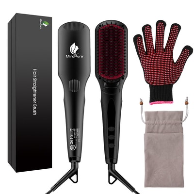 MicroPure Hair Straightener Brush