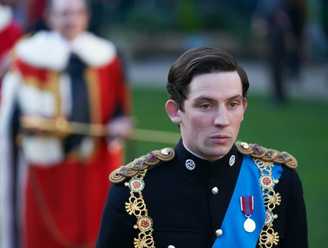 Young Prince Charles on The Crown