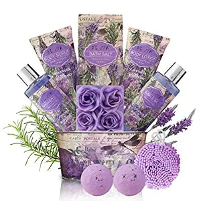 DLuxSpa Relaxing Bath Gift Set