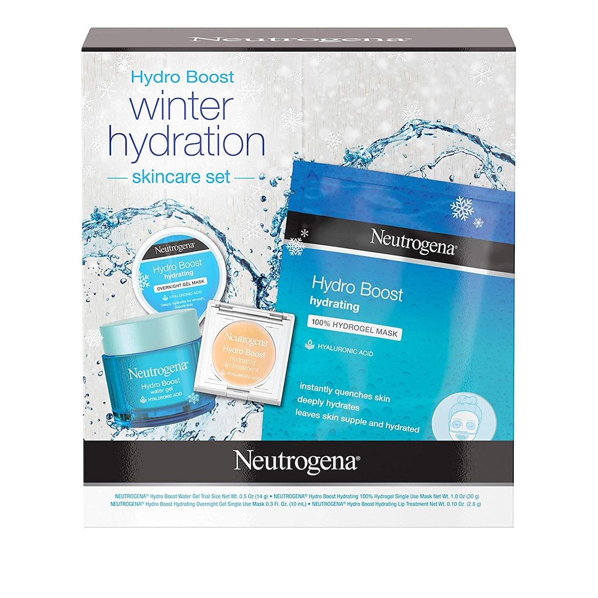 Neutrogena Hydro Boost Winter Gift Set (4-Piece Set)