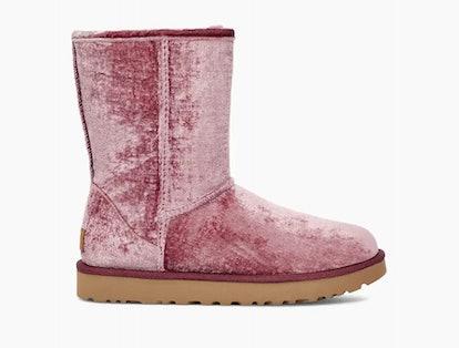 Short Velvet Boots