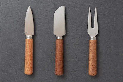 Ironwood Gourmet Cheese Knives (3-Piece Set)