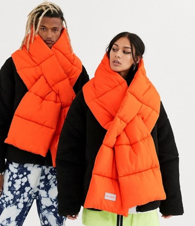 Collusion Unisex Puffer Scarf