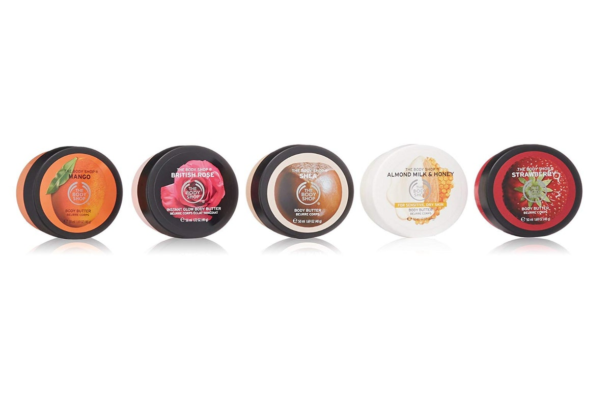 The Body Shop Body Butters Spinner Gift Set (5-Piece Set)