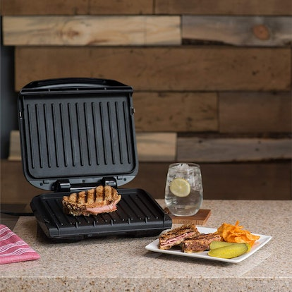 George Foreman Removable Plate Grill and Panini Press