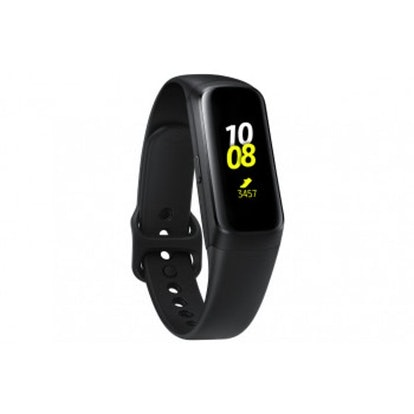 Samsung — Galaxy Fit Activity Tracker + Heart Rate — Black