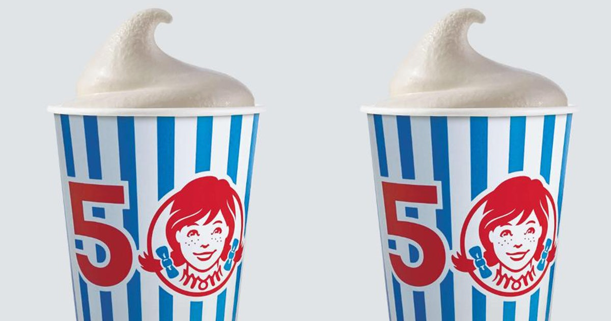 Wendy's New Birthday Cake Frosty Puts A Spin On The Classics