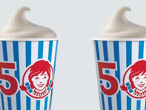 Wendy's new Frosty flavor is Birthday Cake.