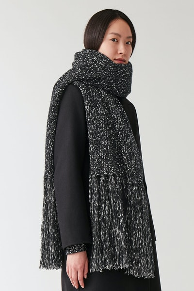 Knitted Blanket Scarf