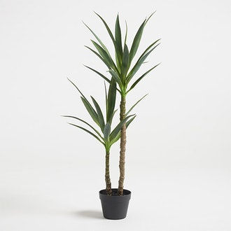 Faux Double Yucca Tree