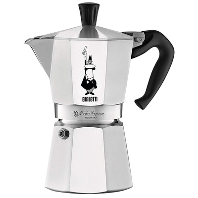 Bialetti Moka Stovetop Coffee Maker (6-cup)