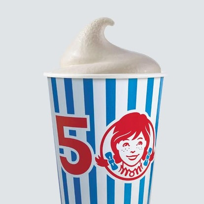 Wendy's new Birthday Cake Frosty celebrates 50 years of the chain.